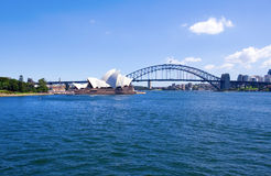 Sydney Opera House in Sydney, Aus Royalty Free Stock Photography