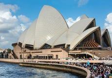 Sydney Opera House in Sydney, Australia. Stock Photos