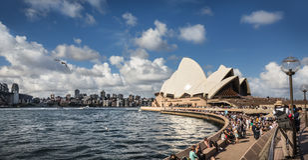 Sydney Opera House in Sydney, Australia. Royalty Free Stock Photos