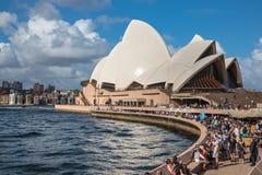 Sydney Opera House in Sydney, Australia. Royalty Free Stock Photography