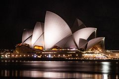 Sydney Opera House. In Australia royalty free stock photography