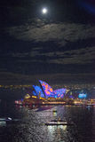 Sydney Opera House a Sydney viva Fotografie Stock