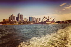 Sydney Opera House und CBD Lizenzfreie Stockfotografie