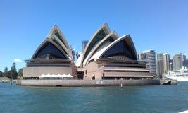 Sydney Opera House, van Sydney Ferry, Sydney NSW, Australië wordt gezien dat royalty-vrije stock afbeeldingen