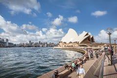 Sydney Opera House view Royalty Free Stock Image