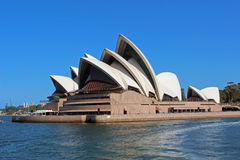 Sydney Opera House. Opera House in Sydney, view from the bridge Royalty Free Stock Photo