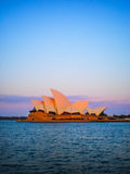 Sydney opera house view in late afternoon Royalty Free Stock Photo
