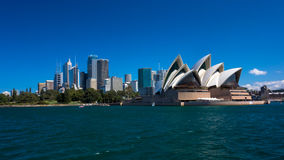 Sydney Opera House viewed from the water Stock Photography