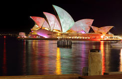 Sydney Opera House Watercolours Royalty Free Stock Image
