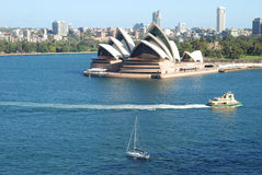 Sydney Opera House. The Sydney Opera House is a world-class performing arts centre, which was included in the UNESCO's World Heritage List in 2007 Stock Images