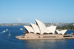 Sydney Opera House. The Sydney Opera House is a world-class performing arts centre, which was included in the UNESCO's World Heritage List in 2007 Royalty Free Stock Photo