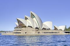 Sydney Opera-huis Sydney Harbor stock foto