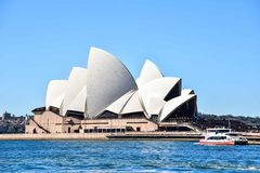 Sydney opera od Daleko Fotografia Royalty Free