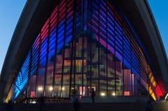 Sydney opera Podczas Żywego Sydney festiwalu 2016 Zdjęcie Stock
