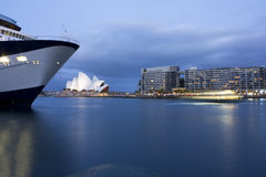 Sydney Opera Quays at Dusk Stock Photos