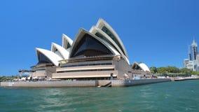Sydney Opera skyline, NSW, Australia stock footage
