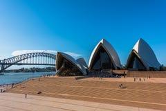 Sydney opera Sydney Australia Fotografia Stock