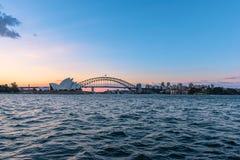 Sydney opera Sydney Australia Fotografia Royalty Free