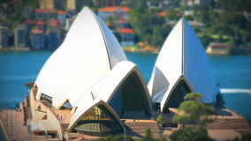 Sydney Opera Tilt-Shift stock video