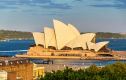 Sydney opera, UNESCO światowego dziedzictwa miejsce w Australia Zdjęcia Royalty Free