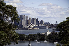 Sydney opera view Stock Photography