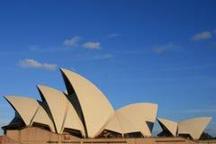 SYDNEY opera W SYDNEY NOWYCH południowych waliach AUSTRALIA Obraz Stock