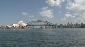 Sydney Opera y puente del puerto almacen de video