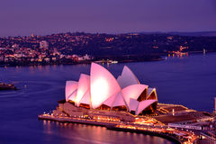 Sydney operahus royaltyfri fotografi