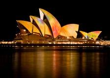 Sydney-Opernhaus - 20. Januar 2010 Lizenzfreie Stockbilder