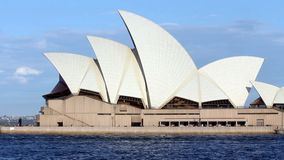 Sydney-Opernhaus in Australien stock video footage