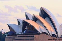 Sydney opery szczegół Fotografia Stock