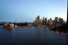 Sydney opery widok zdjęcie stock