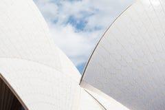 Sydney opery zbliżenie Obrazy Stock