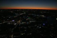 Sydney på natten Royaltyfria Foton