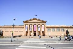 SYDNEY - Październik 12: Galeria Sztuki Nowe południowe walie jest wiodącym muzeum sztuki w Nowych południowych waliach i Sydney Zdjęcie Royalty Free
