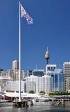 Sydney Panoram fotos de archivo