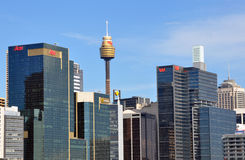 Sydney Panoram Lizenzfreies Stockbild