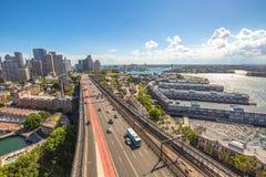 Sydney Panorama Fotografie Stock