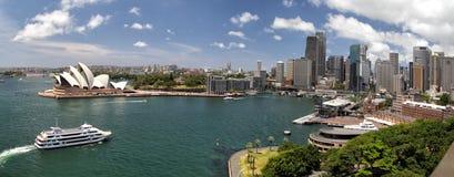Sydney Panorama stock foto's