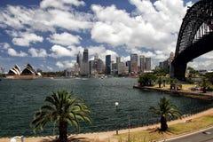 Sydney Panorama royalty-vrije stock foto