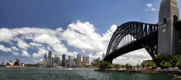 Sydney Panorama royalty-vrije stock afbeelding
