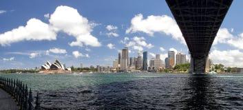 Sydney Panorama royalty-vrije stock fotografie