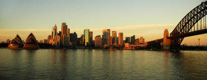 Sydney panorama Royalty Free Stock Photo