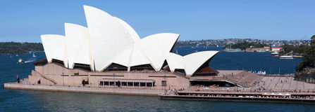 Sydney Panorama Fotografia Stock