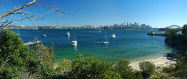 Sydney panorama Stock Photography