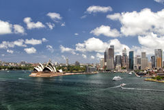 Sydney Panorama Stock Photography