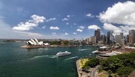 Sydney Panorama Royalty Free Stock Photography