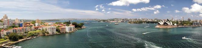 Sydney Panorama Royalty Free Stock Photos
