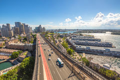 Sydney panorama Stock Photos
