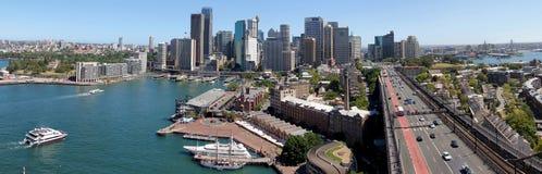 Sydney-panoramische Ansicht Lizenzfreies Stockfoto
